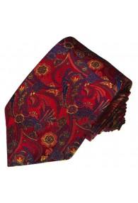 Krawatte Seide Blau Gold LORENZO CANA