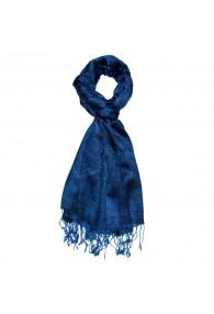 Men's scarf Paisley Blue Dark Blue LORENZO CANA