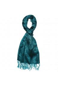 Men's scarf Paisley Turquoise Petrol LORENZO CANA