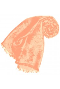Pink scarf for women Paisley LORENZO CANA
