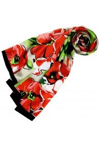 Red silk scarf Paisley LORENZO CANA