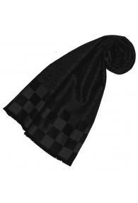 Lady scarf silk classy black LORENZO CANA