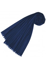 Scarf for women Blue cotton LORENZO CANA