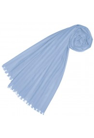 Scarf for women soft blue LORENZO CANA