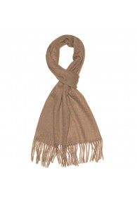 Mister's Scarf 100% Cashmere Comfortable Brown LORENZO CANA