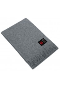 Blanket 100% Alpaca Light Grey LORENZO CANA