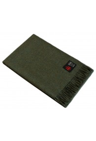 Sofa Blanket 100% Alpaca Olive Green LORENZO CANA