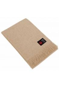 Alpaca blanket sand monochrome LORENZO CANA